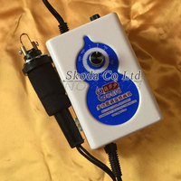 Newest Mini Adjustable Temperature Gourd Pyrography Machine 9 Pcs Pyrography Iron Tips 220V 40W