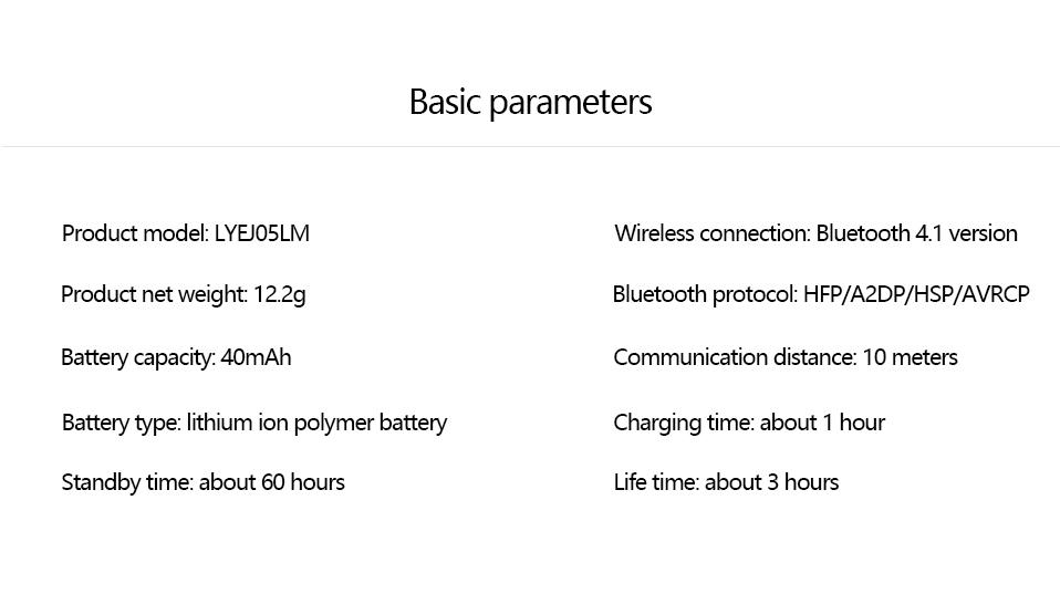 Original Xiaomi Bluetooth Earphone Mini In-Ear Wireless Earbuds (18)