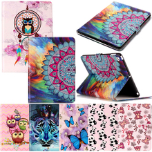 Tablet T820 Funda For Samsung Galaxy Tab S3 9.7inch Fashion Cartoon Leather Wallet Magnetic Flip Case Cover Coque Shell Stand