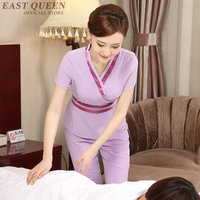 Nurse uniform clothes nurse medical clothing robes clinical uniforms woman beautician massage beauty salon spa uniform KK2032