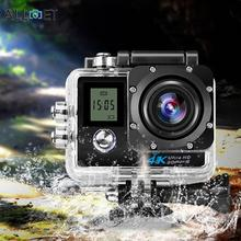 4K HD 2.0″ LCD WiFi 1080P Dual Screen Action Camera Remote Support Action Camera With Waterproof Case High Quality