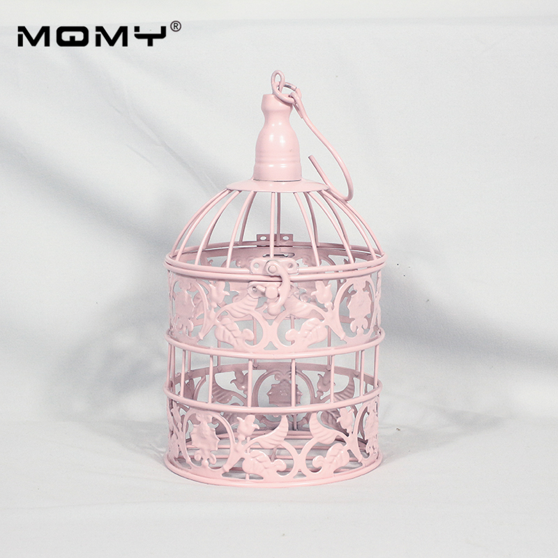 14 pièces Cupcake métal plateau plaque 3 niveaux cage à oiseaux ronde fantaisie or blanc rose ensemble cristal mariage gâteau support - 4