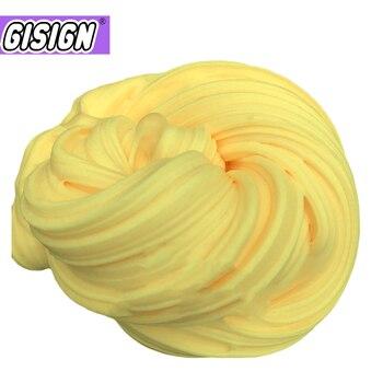 DIY Fluffy Foam Slime Air Dry Plasticine Clay for Soft Cotton Charms Light Kit Goo Antistress Toys Set