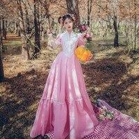 Free Shipping Women's Clothing Literature Art Fan Retro Plaid Long Sleeves Frock Sleeves Qipao Dress