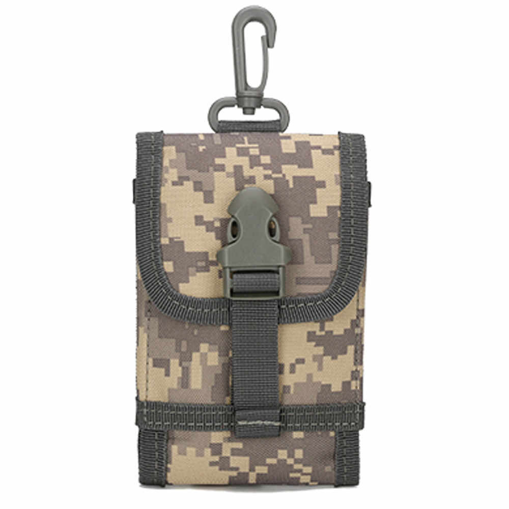 Vrouw Man Bag Unissex Outdoor Telefoon Camouflage Riem Haak Lus Mobiele Pakket sac banane heuptasje mannen vrouwen nerka saszetka