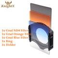 KnightX Набор цветных Фильтров для Cokin P Переходное Кольцо Держатель для Canon nikon d3300 d3200 d5200 d5100 nd EOS 1200D 700D 750D 600D