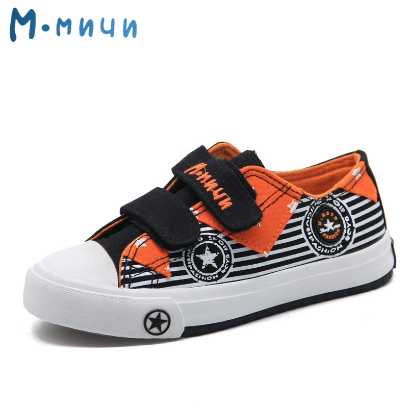 MMNUN size 31-36 Spring Kids Shoes for Toddler Girls and Boys Breathable Hot Denim Canvas Boys Sneakers Children Shoes ML1233E