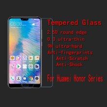 5 шт./лот FENGHEMEI Закаленное стекло протектор экрана для huawei Honor 8 Lite Pro 8A 8C 8X Honor 9 10 Play Lite 9i 9N