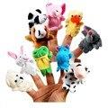 Lindo De la Navidad de Mini Bebé de Juguete de Felpa Animal Marionetas Del Dedo de la Familia Set Boys Girls Mano Marionetas de Peluche Encantador Juguetes Divertidos para Niños muñeca
