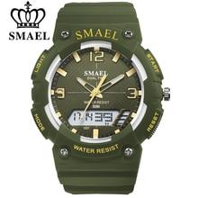 SMAEL Mens Watch Waterproof Clock Quartz Wristwatch Life Leisure Watch Student Man Fashion Business Sports Style Men Gift Clocks