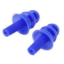 2 шт. мягкие поролоновые беруши для ушей звукоизоляция беруши для ушей анти-шум беруши для путешествий пена мягкое шумоподавление