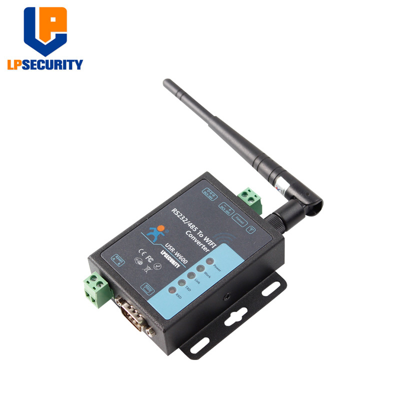 LPSECURITY USR-W600 Serial RS232/RS485 to WIFI Converter, Wireless Serial Server industrial Hardware Watchdog