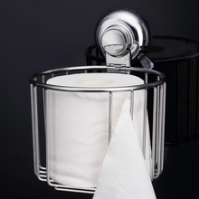 Stainless Steel Toilet Paper Holder Basket Shelf Towel For Bathroom Accessories Storage