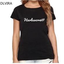 HERBIVORE women's t-shirt / girlie