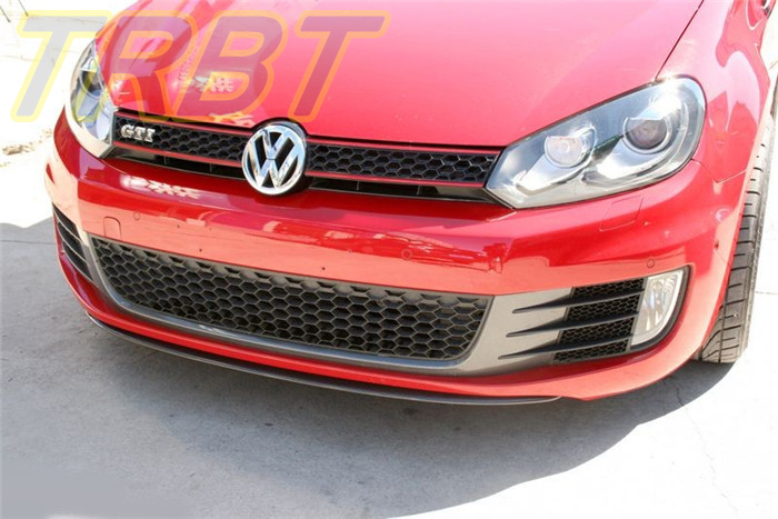 golf 6 gti carbon front bumper lip golf 6 front lip. Black Bedroom Furniture Sets. Home Design Ideas