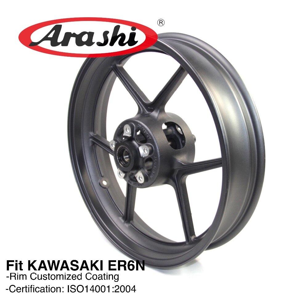 Arashi New Front Wheel Rim For KAWASAKI ER6N er6n 2009 2010 2011 2012 Motorcycle Wheel Rims Accessories
