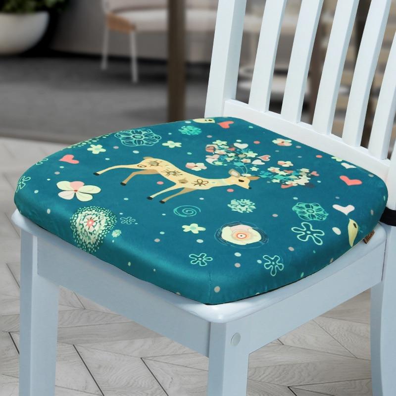 Non-slip Square Seat Cushion Mat For Home Office Chair Student Chair Memory Foam Chair Cushion Pad Thick Travel Car Seat Cushion