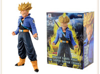 19CM Dragon Ball Z Trunks Action Figure PVC Collection figures toys for christmas gift brinquedos with Retail box