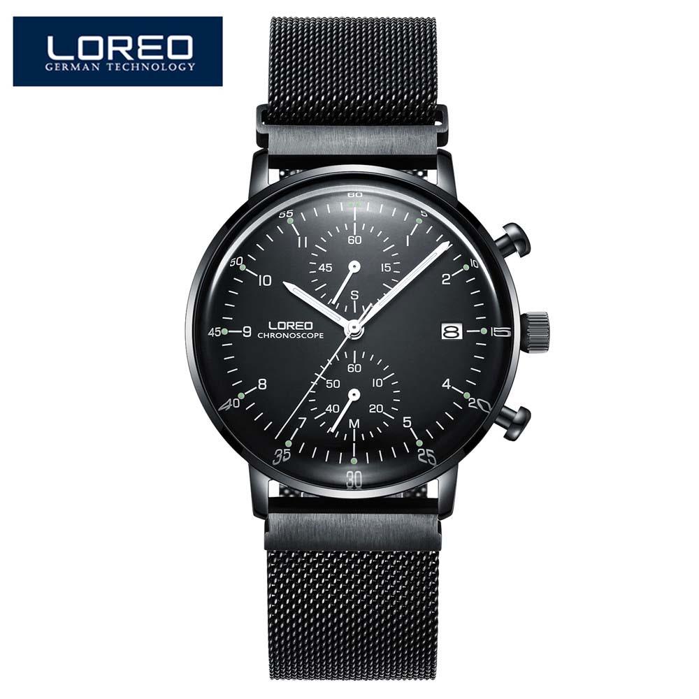42 мм parnis черный циферблат хронограф 2019 Роскошные Брендовые Часы мужские военные часы с кварцевым механизмом механические мужские часы - 2