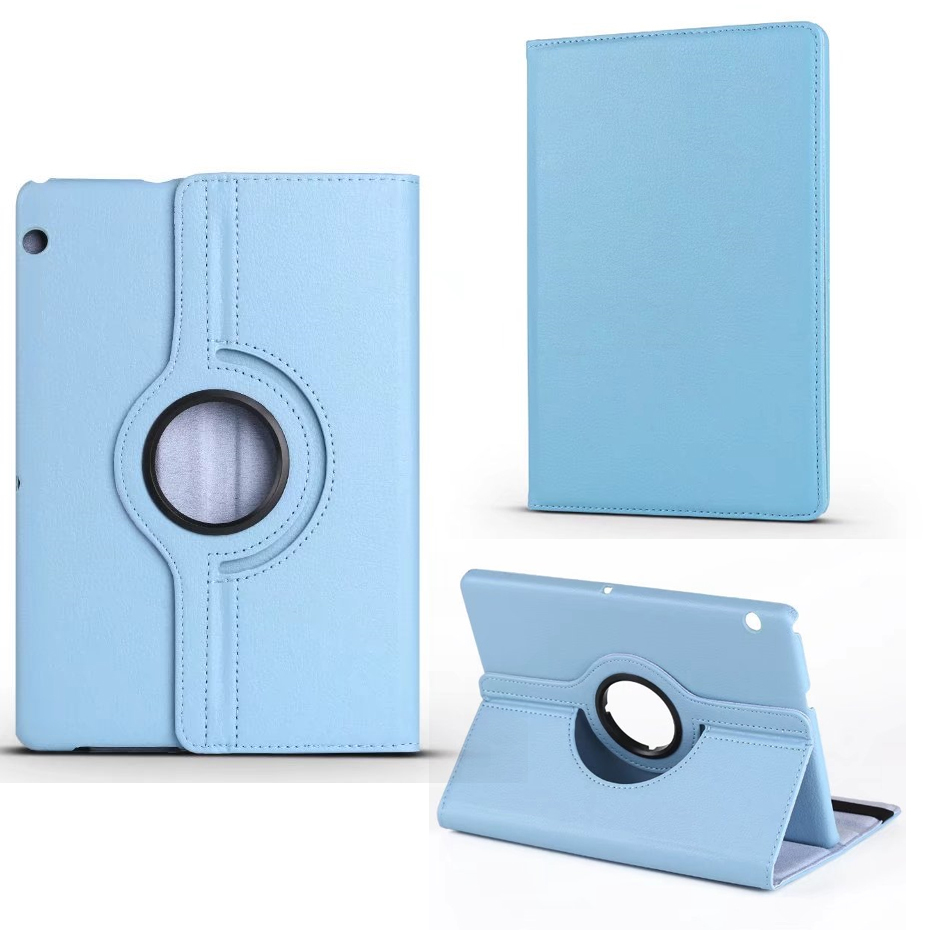 360 Rotating Case For Huawei Mediapad T3 10 AGS-L09 AGS-L03 Cover Stand PU Leather Cases For Honor Play Pad 2 9.6