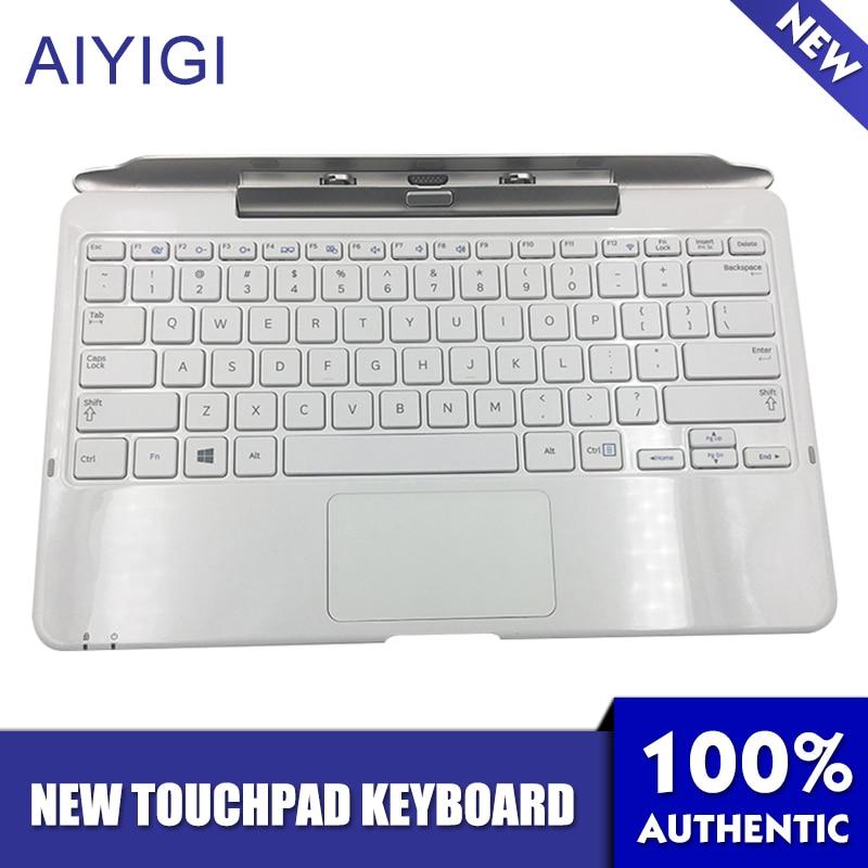 AIYIGI New Removable Tablet PC Keyboard Base For Samsung XE500T XE500T1C 500T1C-A01 AA-RD7NMKD Notebook Touchpad Keyboard(China)
