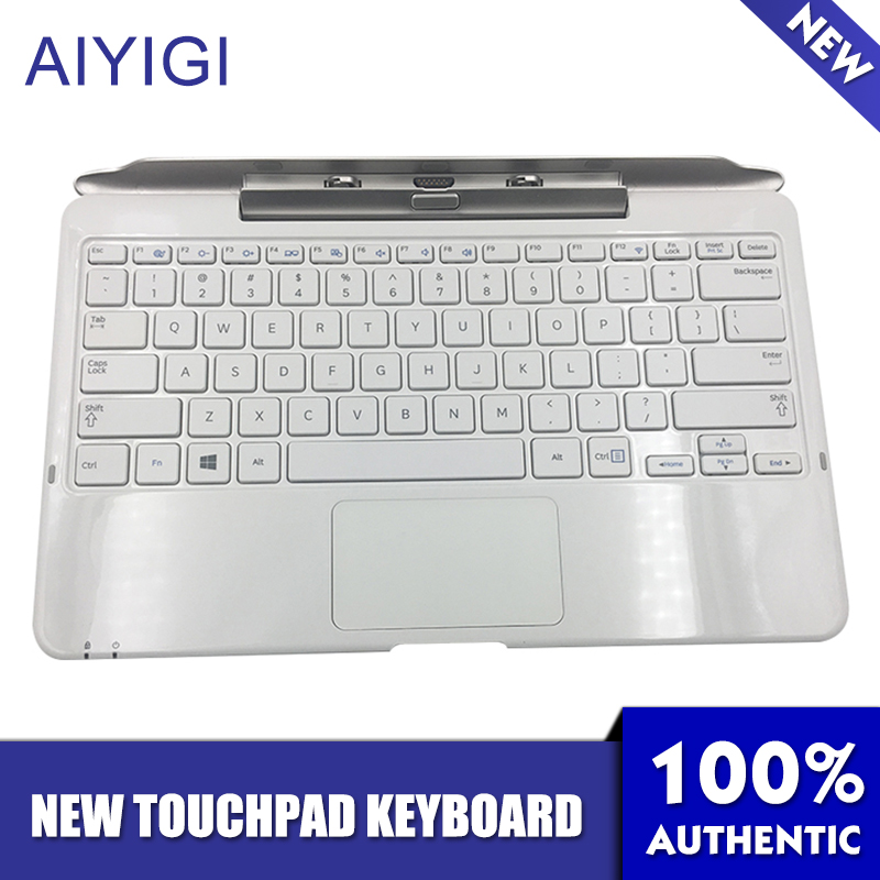 AIYIGI New Removable Tablet PC Keyboard Base For Samsung XE500T XE500T1C 500T1C-A01 AA-RD7NMKD Notebook Touchpad Keyboard new detachable official removable original metal keyboard station stand case cover for samsung ativ smart pc 700t 700t1c xe700t