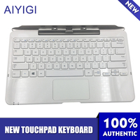 AIYIGI New Removable Tablet PC Keyboard Base For Samsung XE500T XE500T1C 500T1C A01 AA RD7NMKD Notebook Touchpad Keyboard
