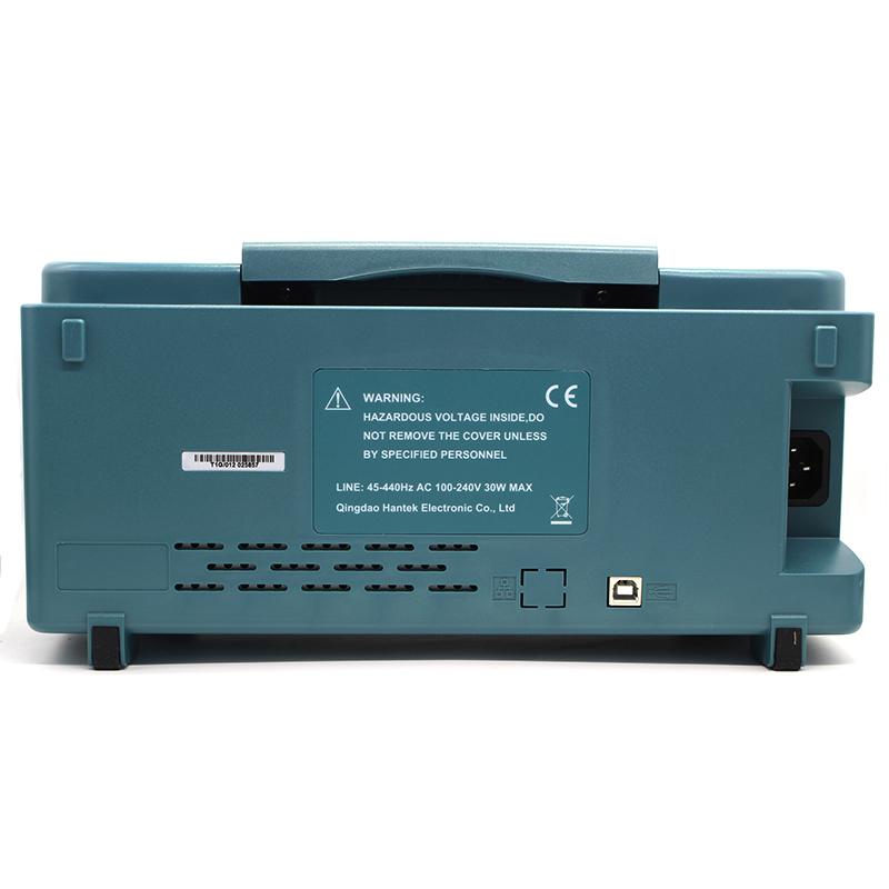 Hantek MSO5202D Digital Oscilloscope USB 200Mhz 2 Channels Hantek Osciloscopio +16Channels Logic Analyzer + External Trigger (5)