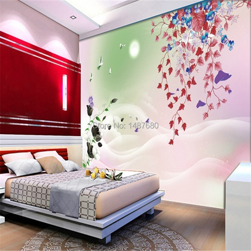 Aliexpress.com : Buy Beibehang Plum Flower Wall 3d White Horse Wall Mural  Photo Wallpaper 3d Custom Wall Paper Murals For Living Room Home Decoration  From ... Part 63