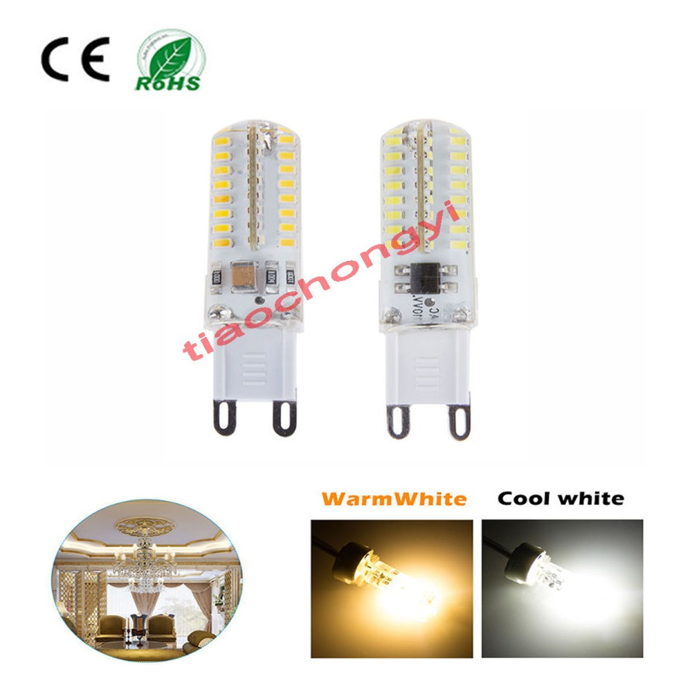 Lampadine G9 Led 100w.Us 8 57 8 Off G4 G9 Led Spot Light Bulb Lamp 3w 5w 24 64led 3014 Warm Cool White 110 220v Lot In Led Strips From Lights Lighting On Aliexpress Com