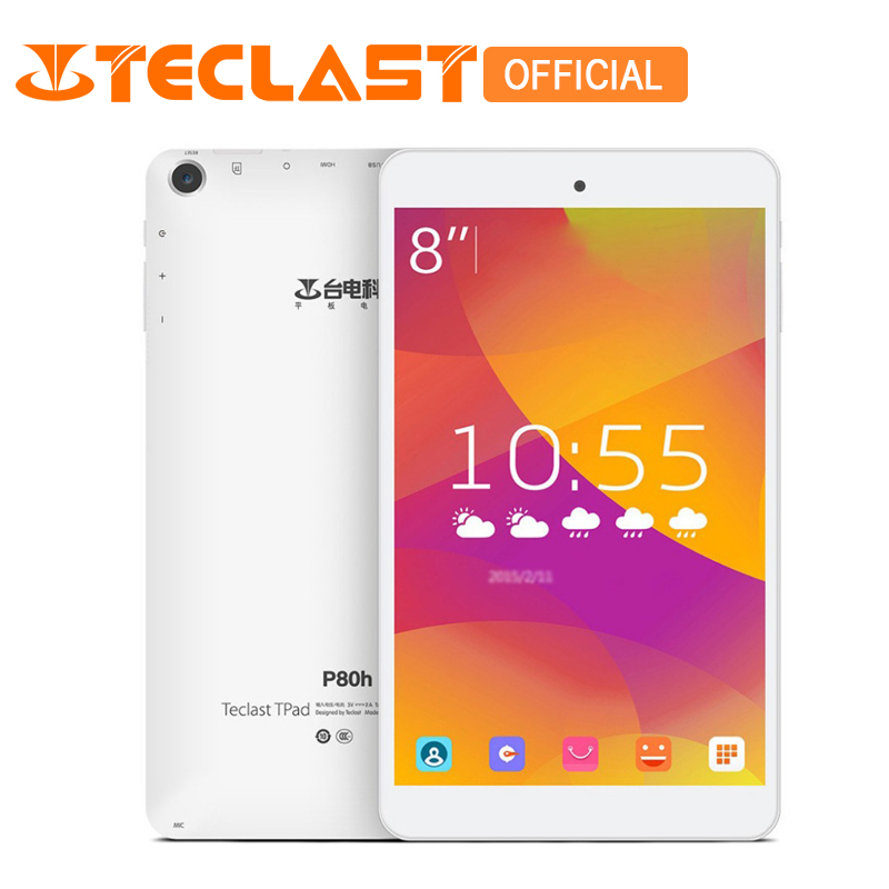 Teclast P80H Android 5.1 Quad Core 64bit MTK8163 IPS 1280x800 Screen Dual WIFI 2.4G/5G HDMI Bluetooth GPS 8 inch Tablet PC новый 8 дюймовый планшетный пк teclast p80h mtk8163 quad core 1280x800 ips android 5 1 dual 2 4g 5g wifi hdmi gps