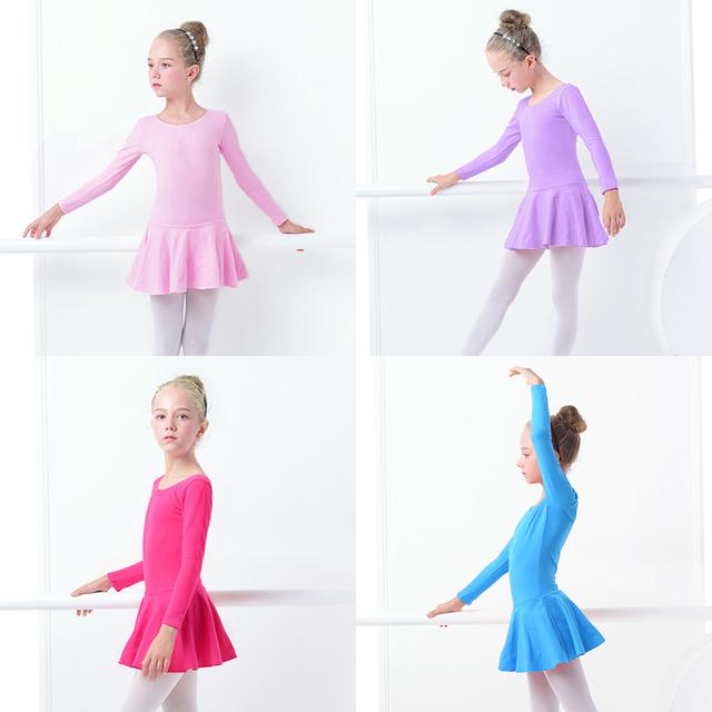 Girl's Ballet O-Neck Bodysuit