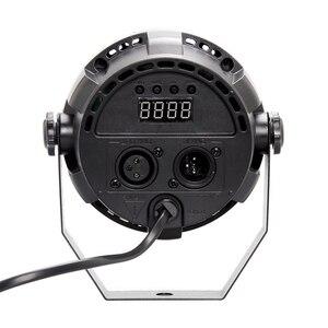 Image 4 - Automatyczny dźwięk aktywny DMX512 Master slave 36W UV oświetlenie sceniczne led ultrafioletowe czarne światło lampa par lampka punktowa dla Disco DJ Club