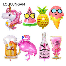hot deal buy big helium balloons flamingo unicorn party balloon wedding birthday party decorations kids adult ballons event party supplies .