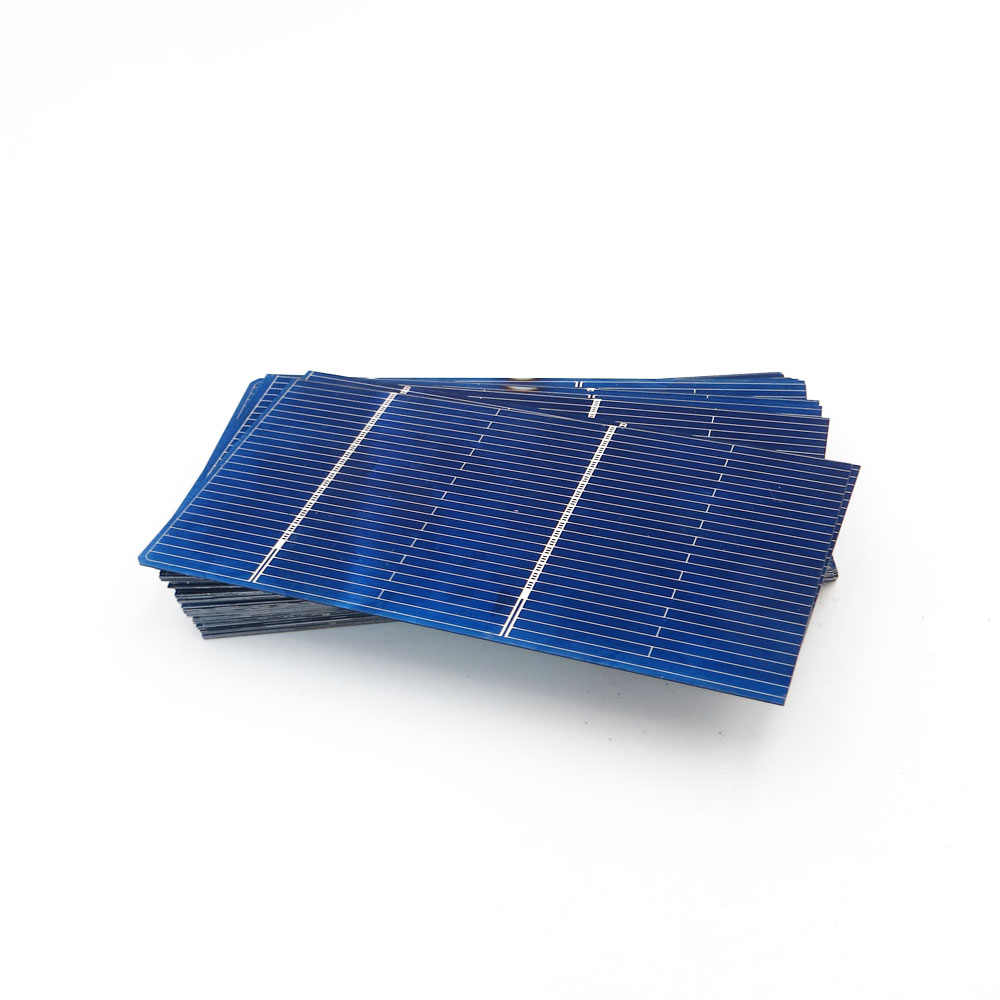 50pcs x Solar Battery Charger 5/6/9/12/18V  Solar Panel DIY Solar Cells Polycrystalline Photovoltaic Module  Poly Power Connect