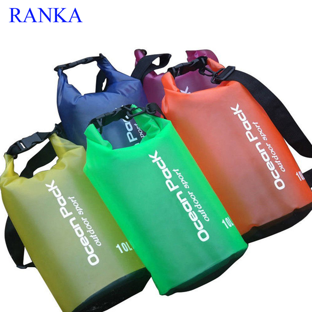 ae569d1046a Waterproof bag Dry bags Ocean Pack for Outdoor Sports PVC foldable Pouch  Sport bags for travel Boating Fishing Hiking Camping