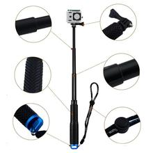 Selfie Sticks Monopod for GoPro HERO 5 4 3 SJCAM Extendable Handheld Pole Telescopic Action Camera POV Accessories