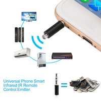 Universal 3,5mm Mini Control remoto inteligente enchufe Teléfono Móvil Inteligente infrarrojo IR Control remoto Jack para iPhone IOS Android