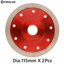 2pcs 115mm Wave Style Diamond Saw Blade for Porcelain tile ceramic Dry cutting aggressive disc marble granite Stone saw blade цены