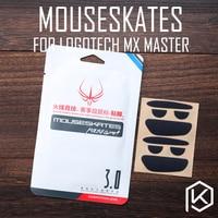Jeux Hotline 2 ensembles/pack original niveau souris pieds patins gildes pour logitech mx master 0.6mm épaisseur téflon
