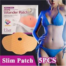 No Pills No Diet Weight Loss Safety Belly Slim Patch Fat Burn HOT WONDER PATCH 15 Days Slimming Easy 1 BOX=5PCS(China)