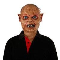 X MERRY New Developed Halloween Mask Horror Realistic Evil Devil Men Goblin Latex Mask Movie Characters