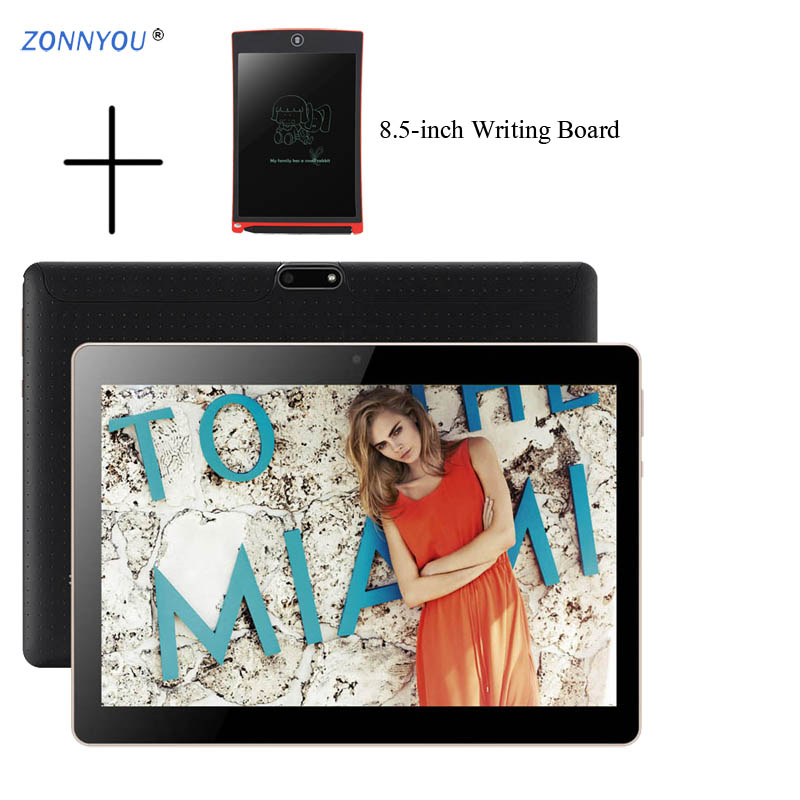10.1 inch Tablet PC 3G Call Android 8.0 Octa Core 4GB RAM 32GB ROM Dual Cameras Bluetooth Tablet PC +8.5-inch Writing Board10.1 inch Tablet PC 3G Call Android 8.0 Octa Core 4GB RAM 32GB ROM Dual Cameras Bluetooth Tablet PC +8.5-inch Writing Board