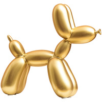 Home Decoration Accessories Modern Cute Balloon Dog Resin Figurines Creative Decoration Crafts Gift Miniatures Nordic Home Decor
