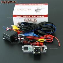 BigBigRoad Car Rear View Camera Inverso con Filtro Per Volkswagen CC/Golf 4 5 7/lamando/BORA/Amarok/Robusto 2010-2014