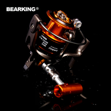 Bearking LP Series Spinning Reel Brand 5.2:1  Bearings Fresh Water Fishing Reel Wheels Gear Pesca hot model 2017 free shipping