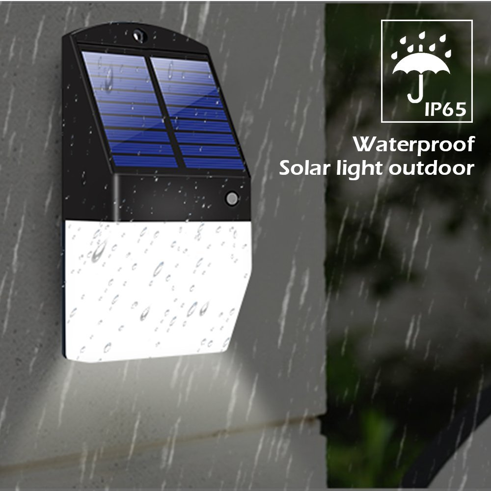 Ultra Bright Motion Sensor Solar Lights Outdoor Microwave