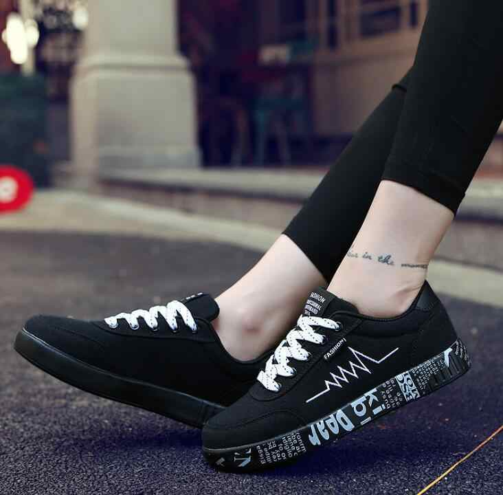 2019 Spring New Women Shoes Black