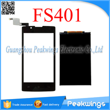For Fly FS401 FS403 FS451 FS452 FS501 FS502 Touch Panel Digitizer Screen Sensor with LCD Display Screen