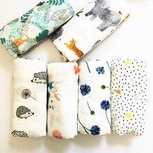 Муслиновое одеяло s детское муслиновое одеяло Пеленальное бамбуковое хлопковое детское банное полотенце Пеленальное Одеяло s многофункциональное детское полотенце